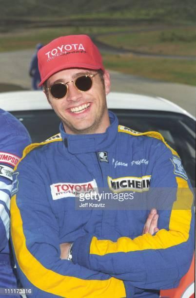 Jason Priestley during Priestley in Racing School '95 in Willow Springs CA
