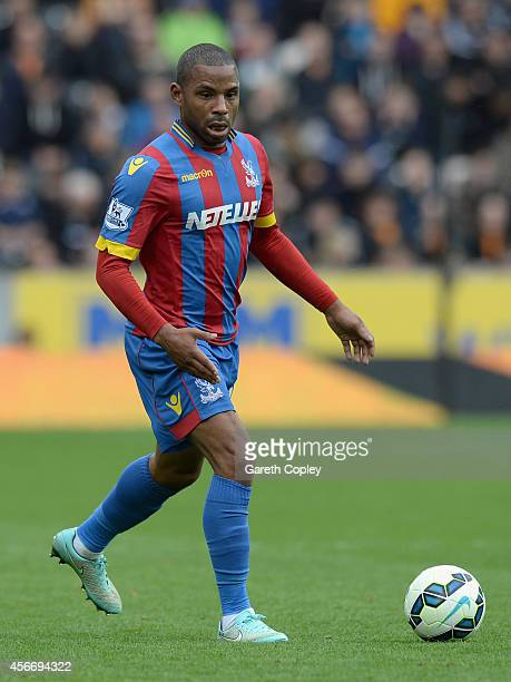Jason Puncheon of Crystal Palace during the Barclays Premier League match between Hull City and Crystal Palace at KC Stadium on October 4 2014 in...