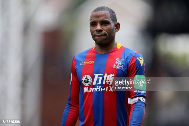 Jason Puncheon of Crystal Palace looks on after the Premier League match between Crystal Palace and Southampton at Selhurst Park on September 16 2017...