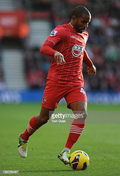 Jason Puncheon of Southampton during the Barclays Premier League match between Southampton and Swansea City at St Mary's Stadium on November 10 2012...