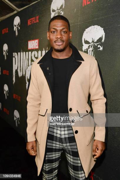 Jason R Moore attends Marvel's The Punisher Los Angeles Premiere at ArcLight Hollywood on January 14 2019 in Hollywood California
