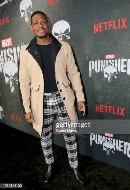 """Jason R. Moore attends """"Marvel's The Punisher"""" Seasons 2 Premiere at ArcLight Hollywood on January 14, 2019 in Hollywood, California."""