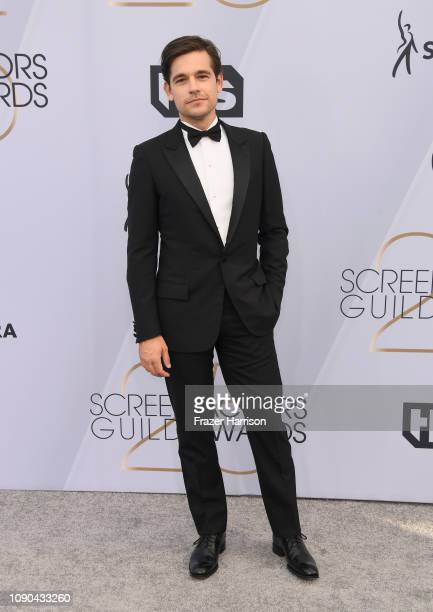 Jason Ralph attends the 25th Annual Screen ActorsGuild Awards at The Shrine Auditorium on January 27 2019 in Los Angeles California
