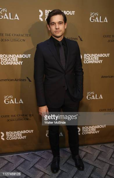 Jason Ralph attends the Roundabout Theatre Company's 2019 Gala honoring John Lithgow at the Ziegfeld Ballroom on February 25 2019 in New York City