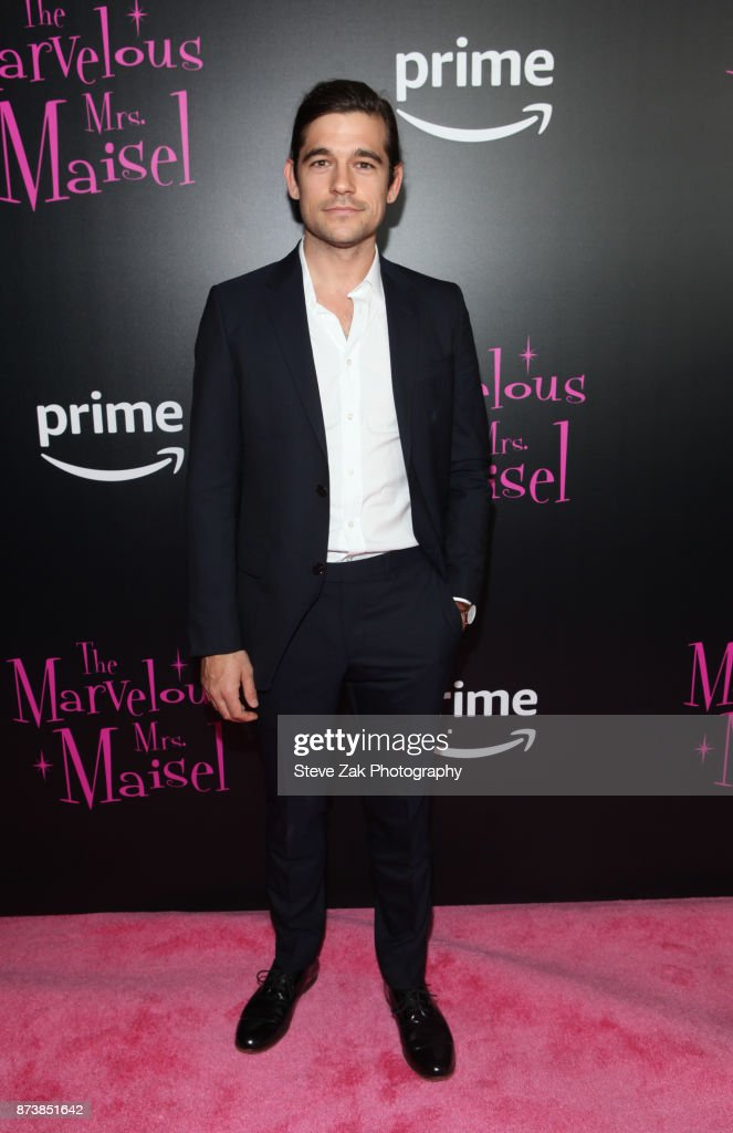 Jason Ralph attends'The Marvelous Mrs. Maisel' New York Premiere at Village East Cinema on November 13, 2017 in New York City.