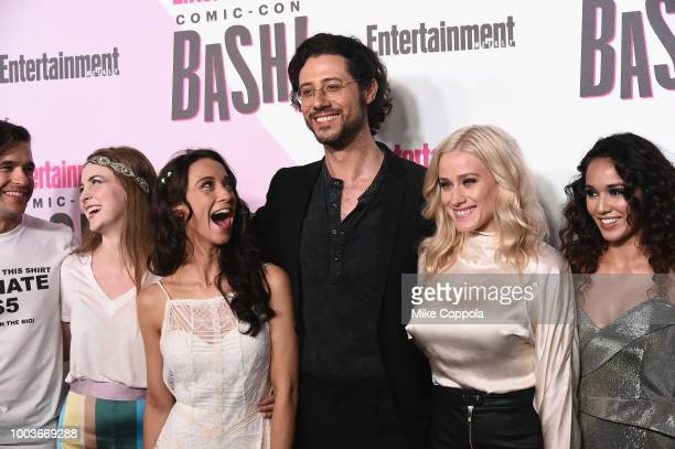 Jason Ralph Brittany Curra Stella Maeve Hale Applema Olivia Dudley Summer Bishil and Sera Gamble attend Entertainment Weekly's ComicCon Bash held at...