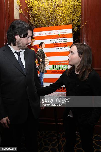 Jason Reitman and Ellen Page attend IVAN REITMAN Hosts a Lunch for ELLEN PAGE and JASON REITMAN In Celebration of FOX SEARCHLIGHT PICTURES' JUNO at...
