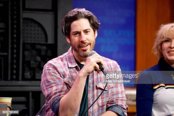 Jason Reitman attends the 2018 Sundance Film Festival Cinema Cafe Diablo Cody and Jason Reitman at Filmmaker Lodge on January 24 2018 in Park City...