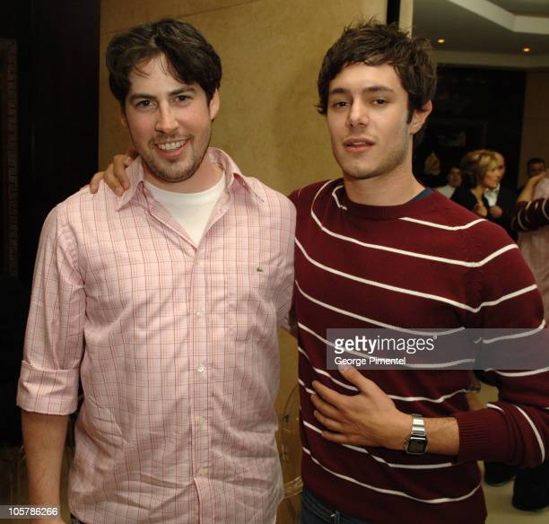 Jason Reitman director and Adam Brody during 2005 Toronto Film Festival Thank You For Smoking Party at Chanel Store in Toronto Canada