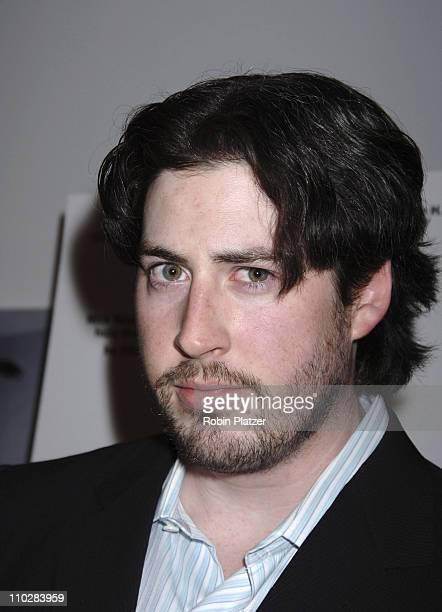 "Jason Reitman during ""Thank You For Smoking"" New York Premiere - Inside Arrivals - March 12, 2006 at Museum of Modern Art in New York City, NY,..."