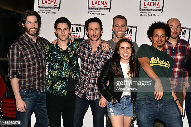 Jason Reitman, Travis Tope, Jonathan Tucker,James Van Der Beek, Mae Whitman, Eric Andre and Paul Scheer attend the Film Independent at LACMA presents...
