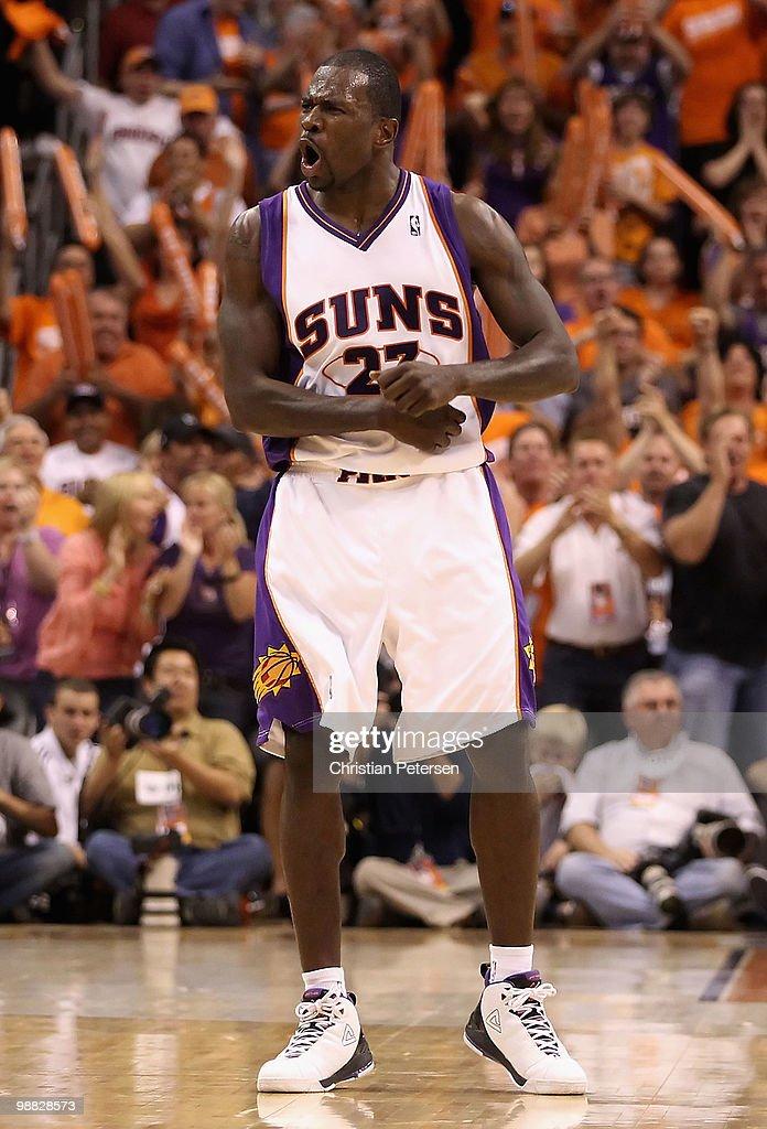 San Antonio Spurs v Phoenix Suns, Game 1