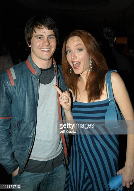 Jason Ritter and Amy Yasbeck during Bad Santa Los Angeles Premiere and AfterParty at Bruin Theater in Westwood California United States