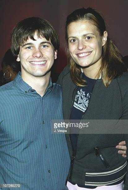 Jason Ritter and Marianna Palka during MercedesBenz Shows LA Fashion Week Spring 2004 Louis Verdad After Party Hosted By Angeleno Magazine at The...