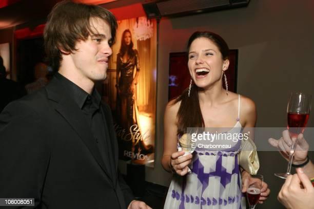 Jason Ritter and Sophia Bush during Entertainment Weekly Magazine 4th Annual Pre-Emmy Party - Inside at Republic in Los Angeles, California, United...