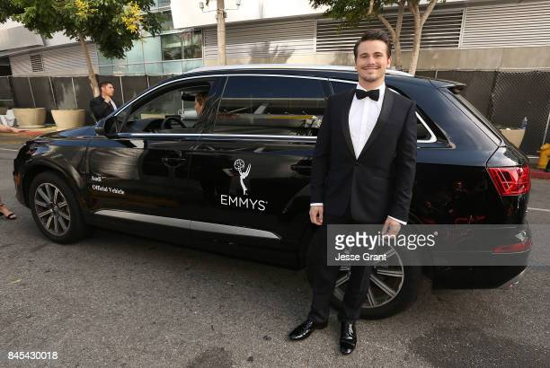 Jason Ritter arrives to The 69th Primetime Creative Arts Emmy Awards celebrated by Audi on September 10 2017 in Los Angeles California