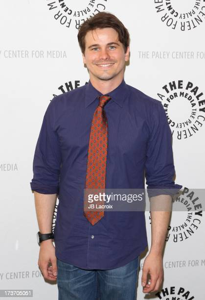 Jason Ritter attends An Evening With Web Therapy The Craze Continues held at The Paley Center for Media on July 16 2013 in Beverly Hills California