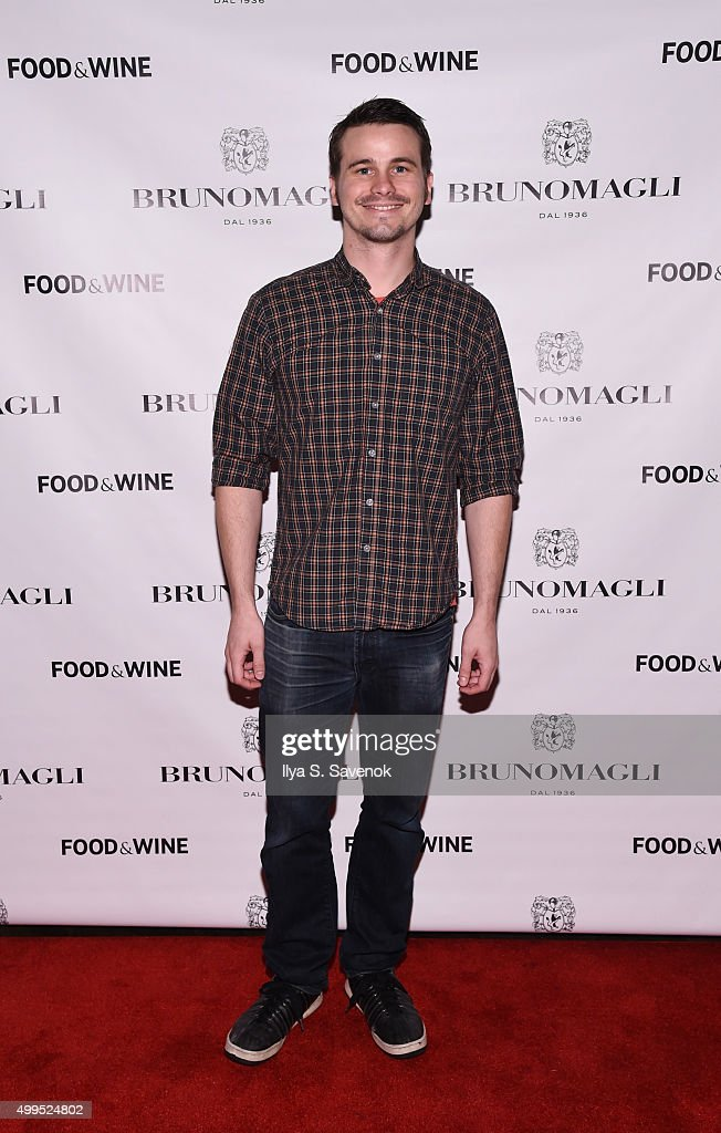 Jason Ritter attends Bruno Magli Presents A Taste Of Italy Co-Hosted By Food & Wine & Scott Conant on December 1, 2015 in New York City.