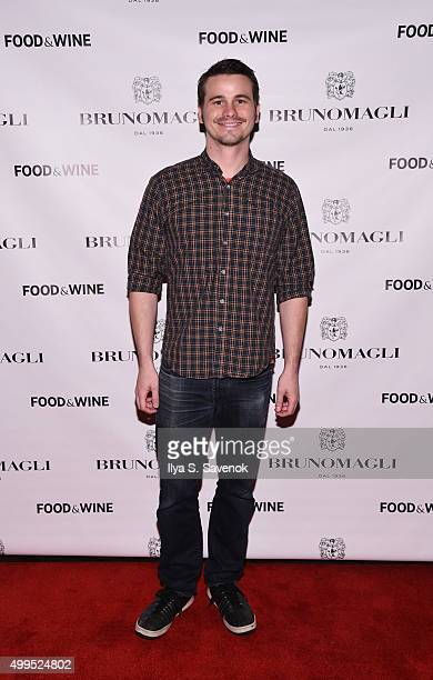 Jason Ritter attends Bruno Magli Presents A Taste Of Italy CoHosted By Food Wine Scott Conant on December 1 2015 in New York City