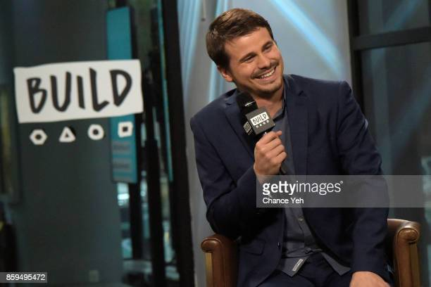 Jason Ritter attends Build series to discuss 'Kevin Saves The World' at Build Studio on October 9 2017 in New York City