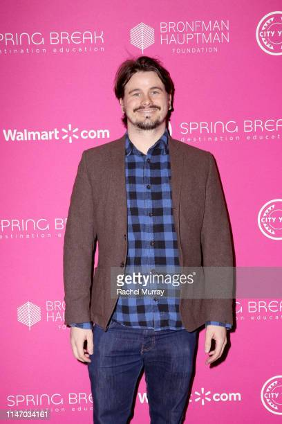 Jason Ritter attends City Year Los Angeles' Spring Break Destination Education at Sony Studios on May 04 2019 in Los Angeles California