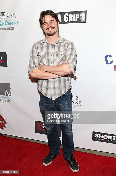 Jason Ritter attends Hollyshorts Film Festival Awards at Grauman's Chinese Theatre on August 16, 2012 in Hollywood, California.