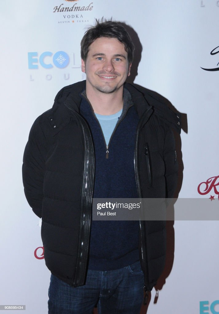 Jason Ritter attends the EcoLuxe Lounge - Park City on January 21, 2018 in Park City, Utah.