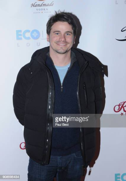 Jason Ritter attends the EcoLuxe Lounge Park City on January 21 2018 in Park City Utah