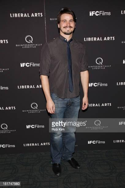 Jason Ritter attends the Liberal Arts New York Screening at Sunshine Landmark on September 10 2012 in New York City