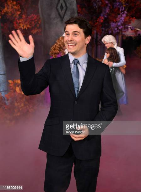 Jason Ritter attends the premiere of Disney's Frozen 2 at Dolby Theatre on November 07 2019 in Hollywood California