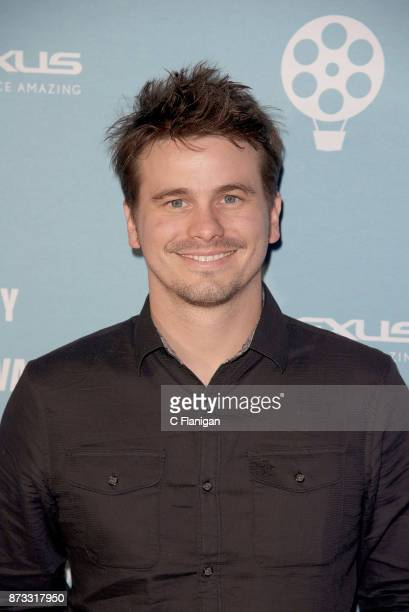 Jason Ritter attends the Red Carpet Festival Gala at CIA Copia during the 7th Annual Napa Valley Film Festival on November 11 2017 in Napa California