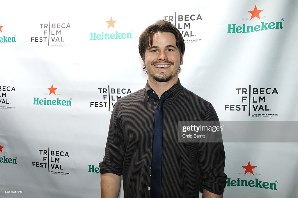 Jason Ritter attends Tribeca Film Festival 2012 After-Party For Free Samples, Hosted by Heineken on April 21, 2012 in New York City.