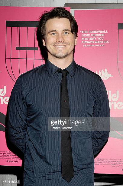 Jason Ritter attends 'Wild Canaries' New York Premiere at IFC Center on February 25 2015 in New York City
