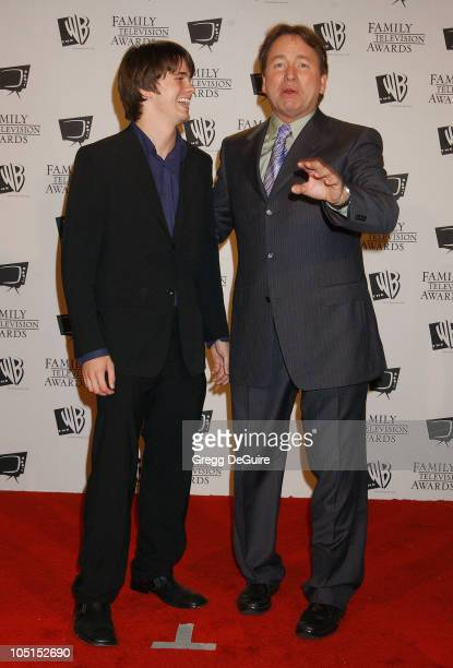 Jason Ritter dad John Ritter during 5th Annual Family Television Awards at Beverly Hilton Hotel in Beverly Hills California United States