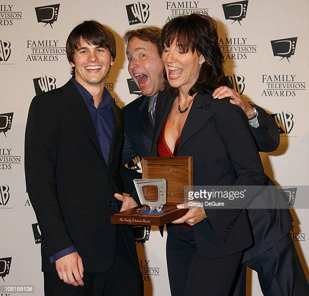 Jason Ritter dad John Ritter Katey Sagal during 5th Annual Family Television Awards at Beverly Hilton Hotel in Beverly Hills California United States