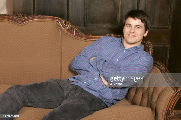 Jason Ritter during 2005 Sundance Film Festival Happy Endings Portraits at HP Portrait Studio in Park City Utah United States