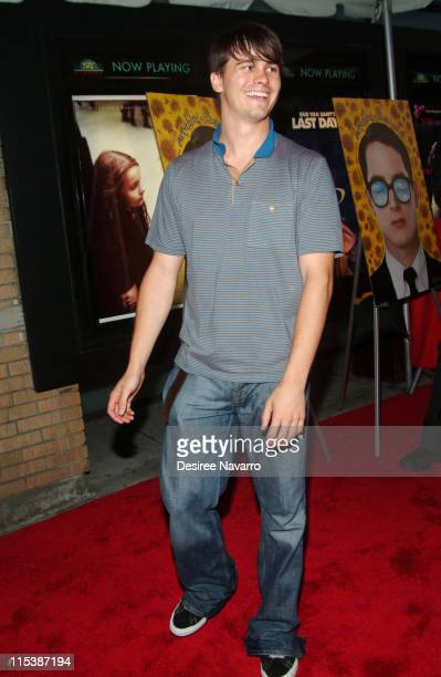 Jason Ritter during Everything is Illuminated New York City Premiere Arrivals at Landmark's Sunshine Cinema in New York City New York United States