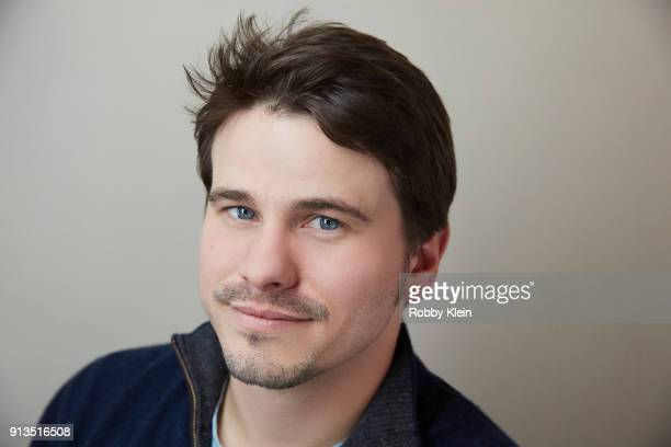 Jason Ritter from the film 'The Tale' poses for a portrait in the YouTube x Getty Images Portrait Studio at 2018 Sundance Film Festival on January 21...