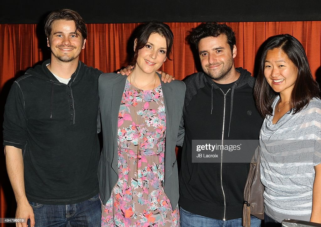 Jason Ritter, Melanie Lynskey and David Krumholtz attend the 'The Big Ask' Los Angeles special screening and Q&A on May 30, 2014 in Santa Monica, California.