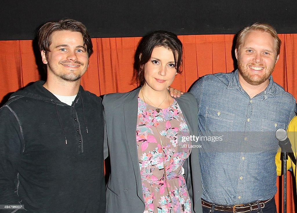 Jason Ritter, Melanie Lynskey and Thomas Beatty attend the 'The Big Ask' Los Angeles special screening and Q&A on May 30, 2014 in Santa Monica, California.