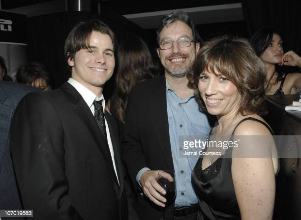 Jason Ritter Robin Bronk and guest during The Creative Coalition and Gotham Magazine Present the 2006 Spotlight Awards and Christopher Reeve First...