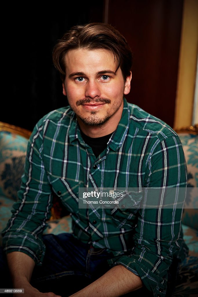 Jason Ritter visits the WireImage portrait studio at the Tribeca Film Festival Films 'About Alex,' 'Gabriel,' & 'Match' Tribeca Press Day At The Carlton Hotel Hosted With Fiji Water And Dobel Tequilaon April 18, 2014 in New York City.
