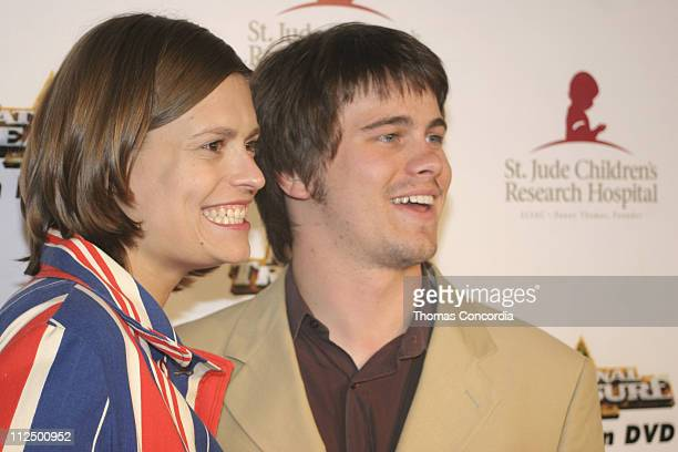 Jason Ritter with Marianna Palka during 3rd Annual Runway For Life Benefiting St Jude Children's Research Hospital Red Carpet at Beverly Hilton in...