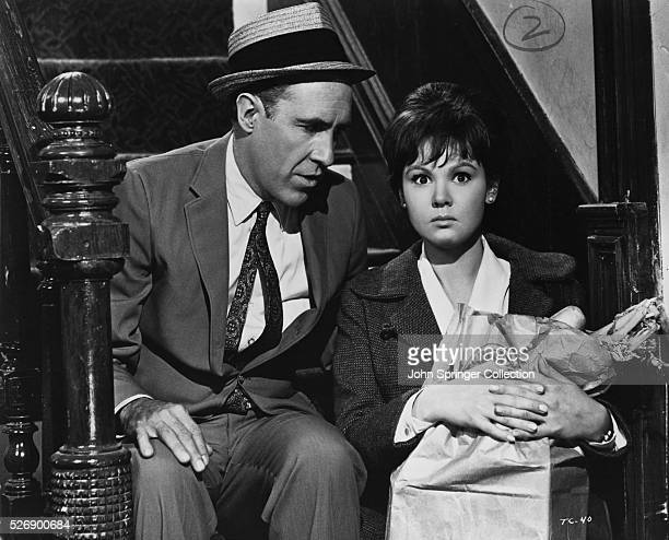 Jason Robards as Murray Burns and Barbara Harris as Sandra Markowitz in the 1965 film A Thousand Clowns
