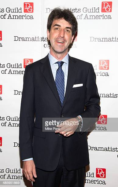 Jason Robert Brown attends the 2014 AntiPiracy Awareness event at The Dramatists Guild of America on April 21 2014 in New York City