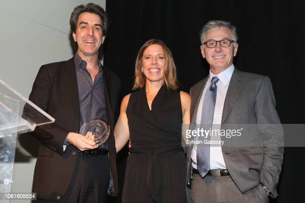 Jason Robert Brown Tracey Pontarelli and Jamie Dinan attend Museum Of The City Of New York Louis Auchincloss Prize Gala at Museum of the City of New...