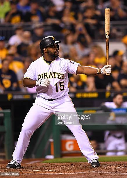 Jason Rogers of the Pittsburgh Pirates in action during the game against the Washington Nationals on September 23 2016 at PNC Park in Pittsburgh...
