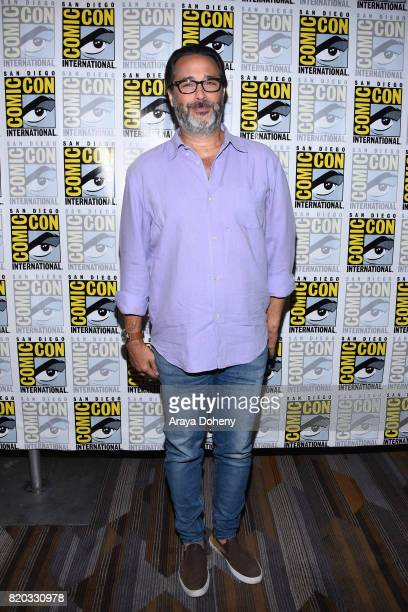 Jason Rothenberg attends The 100 press conference at ComicCon International 2017 on July 21 2017 in San Diego California