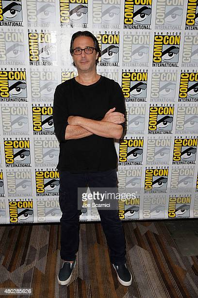 Jason Rothenberg attends 'The 100' press room at ComicCon International 2015 Day 2 at the San Diego Convention Center on July 10 2015 in San Diego...