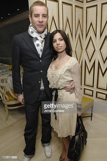 Jason Row and Ally Hilfiger during Melania Trump & Susie Hilfiger Host Best & Co. Fashion Show and Breakfast to Benefit Society of Memorial...